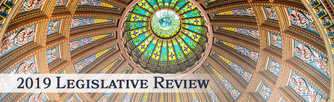 2019 Legislative Review - Image of the Statehouse Dome